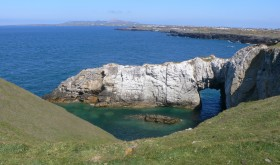 White Arch, Rhoscolyn Coastal Walk