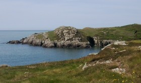 Coastal walk from Porth Dafarch to South Stack