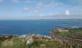A View from the Top of Holyhead Mountain